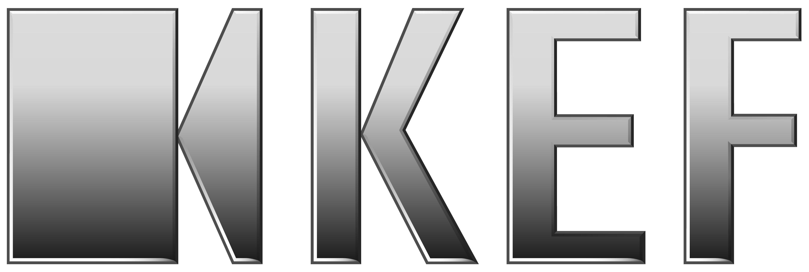 KEF Logo on white